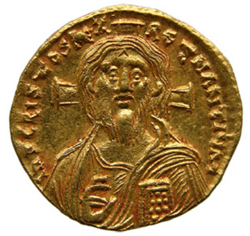 Coin with Christ